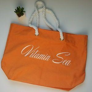 """""""Vitamin Sea"""" Tote"""